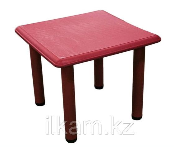 Стол детский квадратный пластиковый, фото 2