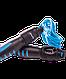 Скакалка RP-102 ПВХ, со счетчиком, синяя/черная, 3 м Starfit, фото 2