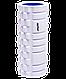 Ролик массажный FA-503, 140х330 мм, белый/синий, фото 2