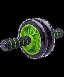 Ролик для пресса RL-102 PRO, зеленый/черный
