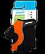 Перчатки для фитнеса SU-108, оранжевые/черные, фото 2