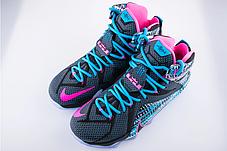 Баскетбольные кроссовки Nike Lebron 12 Christmas Edition , фото 3