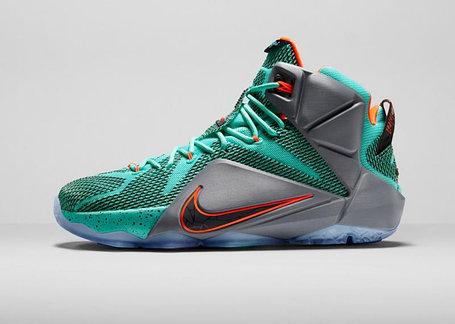 Баскетбольные кроссовки Nike Lebron 12 Christmas Edition , фото 2