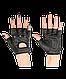 Перчатки для фитнеса SU-115, черные, фото 2
