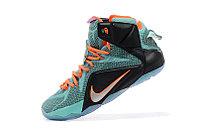 Кроссовки для баскетбола Nike Lebron 12 Elite Black Blue