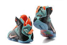 Кроссовки для баскетбола Nike Lebron 12 Elite Black Blue, фото 2