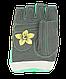 Перчатки для фитнеса SU-112, серые/мятные/желтые, фото 2