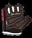 Перчатки для фитнеса SU-111, черные/белые/розовые, фото 2