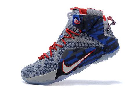 Кроссовки для баскетбола Nike Lebron 12 USA Series, фото 2