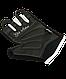 Перчатки для фитнеса SU-111, черные/белые/голубые, фото 3