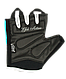 Перчатки для фитнеса SU-111, черные/белые/голубые, фото 6