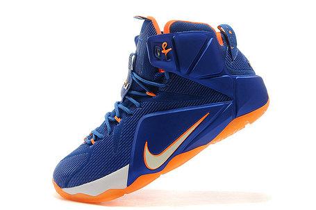 Кроссовки для баскетбола Nike Lebron 12 Sapphire, фото 2