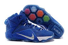 Кроссовки для баскетбола Nike Lebron 12 Sapphire White, фото 3