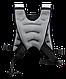 Жилет-утяжелитель WT-301, серый, 10 кг, фото 2