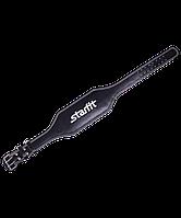 Пояс атлетический SU-303 6 дюймов, кожа, черный