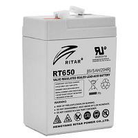 Аккумуляторная батарея Ritar RT650  (6V 5Ah)