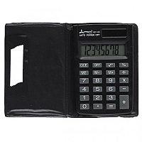 Калькулятор карманный 8 разрядов Uniel BCP-100 MC2 двойное питание 88*58*11мм черный