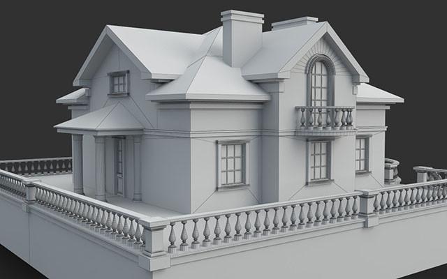 3D моделирование и визуализация в Капчагае