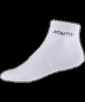 Носки средние белые 2 пары размер 43-46