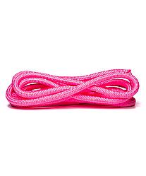 Скакалка для художественной гимнастики  3 м, розовая