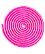 Скакалка для художественной гимнастики  3 м, розовая, фото 2
