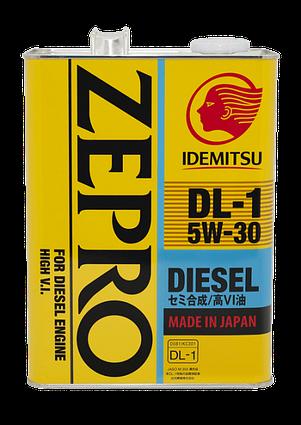 Моторное масло IDEMITSU ZEPRO DL-1 4L