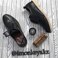 Мужские кожаные туфли 43