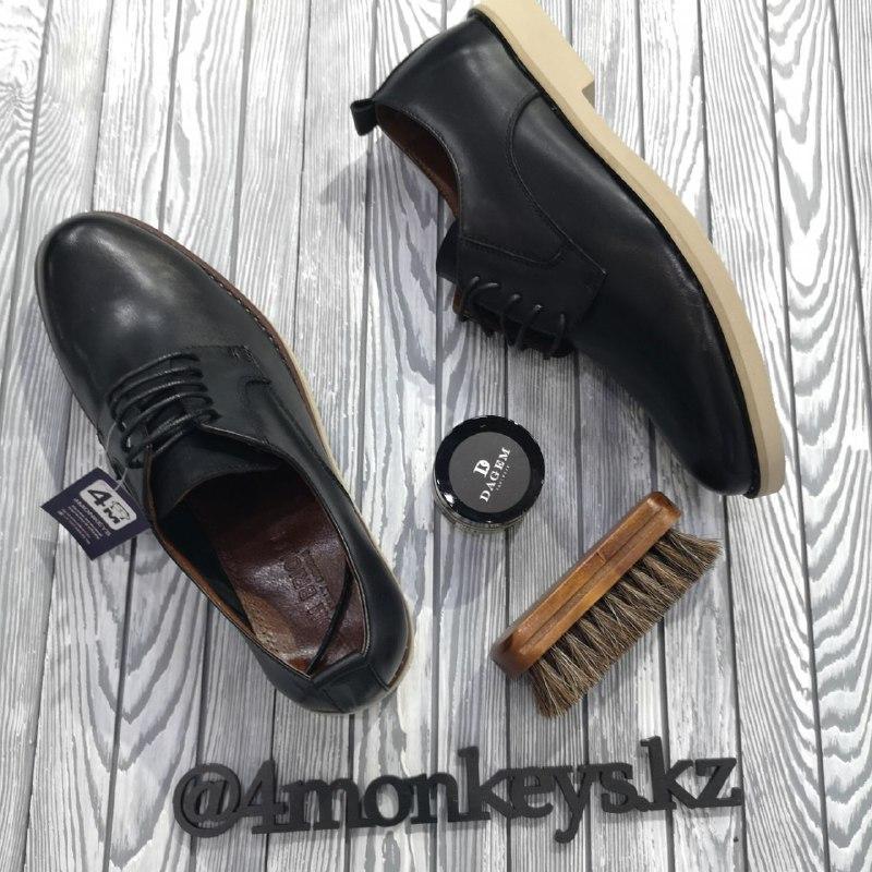 Мужские кожаные туфли - фото 3