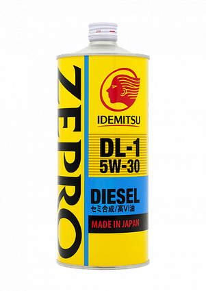 Моторное масло IDEMITSU ZEPRO DL-1, 1L