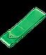 Лента для художественной гимнастики AGR-201 6м, с палочкой 56 см, зеленый, фото 2