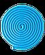 Скакалка для художественной гимнастики 3м, голубой, фото 2