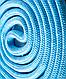 Скакалка для художественной гимнастики 3м, голубой, фото 3