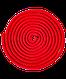 Скакалка для художественной гимнастики  3м, красный, фото 2