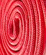 Скакалка для художественной гимнастики  3м, красный, фото 3