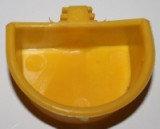 Кормушка для хомяка полукруг с держателем, 7 см