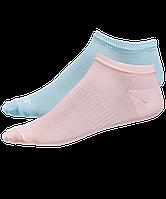 Носки низкие SW-205, персиковый/светло-бирюзовый, 2 пары р 35-38