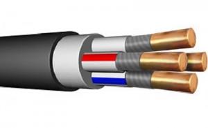 Кабель силовой ВВГнг(А)- LS 4х10  0,66 кВ ГОСТ