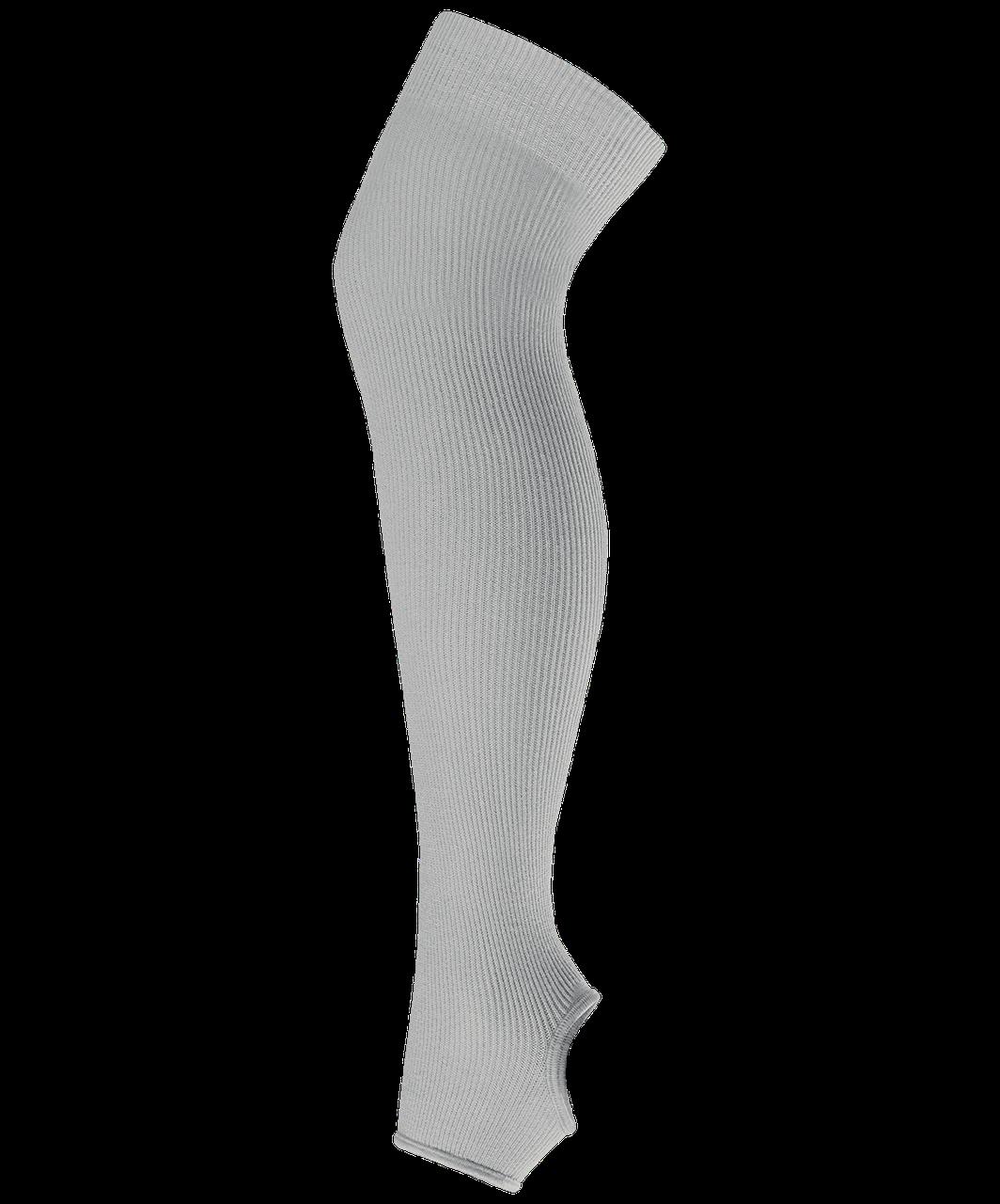 Гетры для танцев GS-201, х/б, серый, 55 см