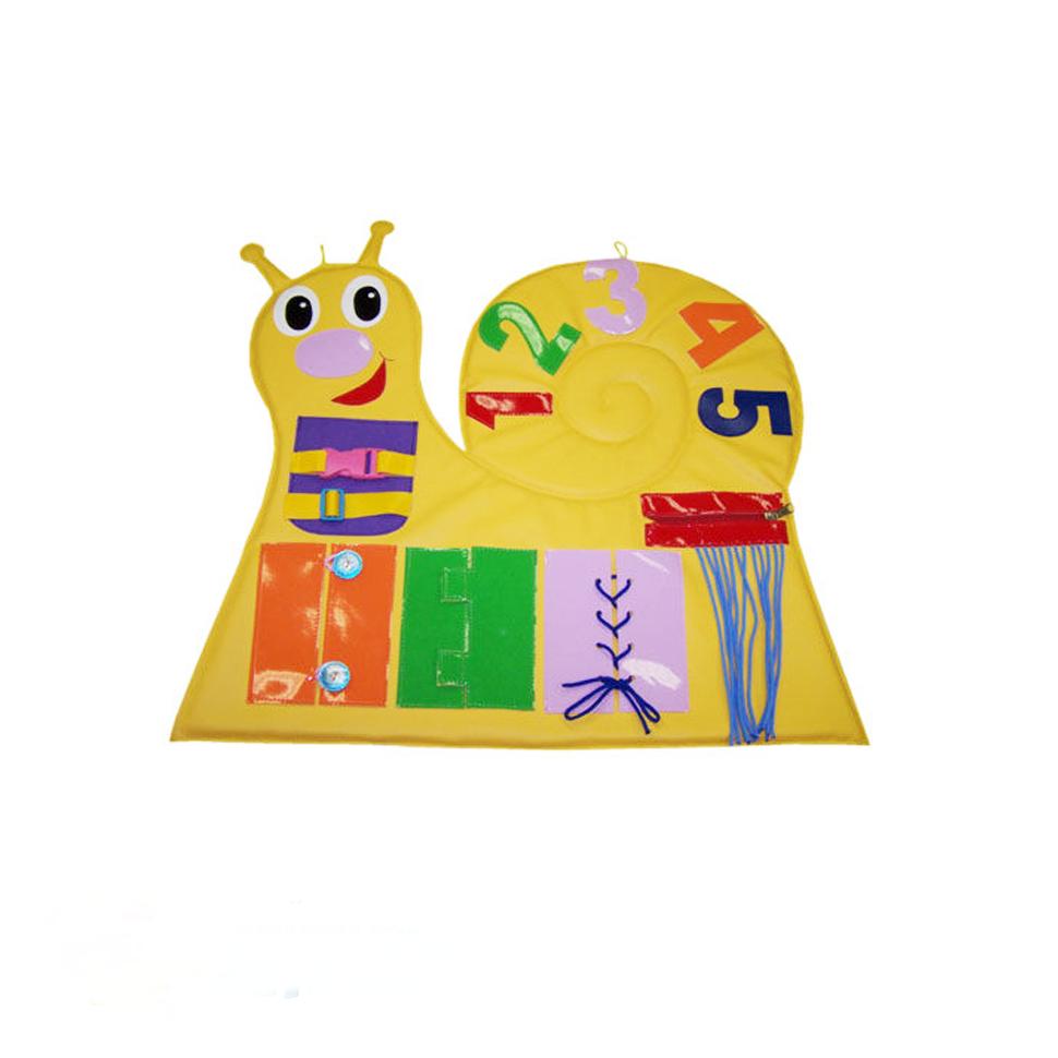 «Улитка» игрушка настенная дидактическая