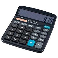 Калькулятор настольный 12 разрядный Perfeo SDC-837B, бухгалтерский, GT, черный