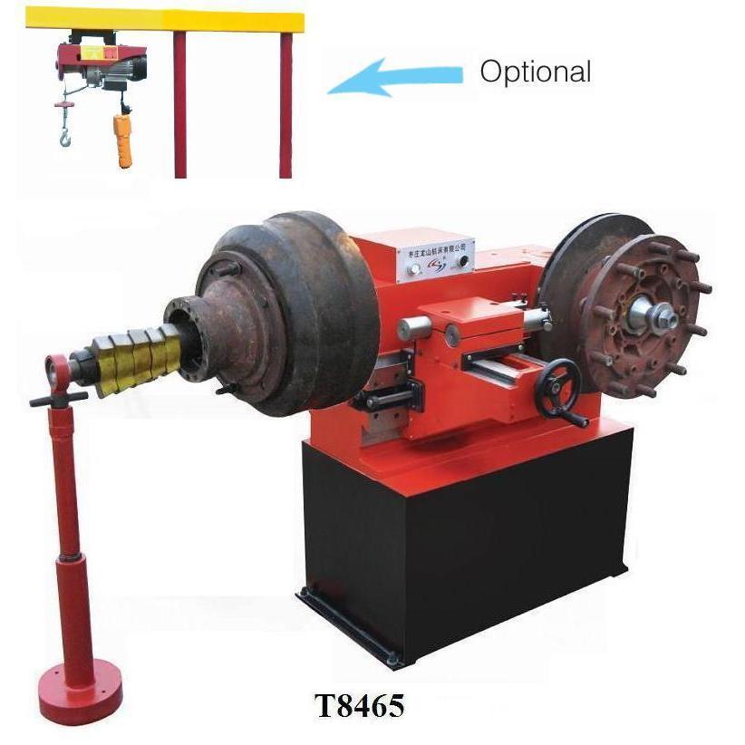 Станок для проточки тормозных дисков и барабанов T8465