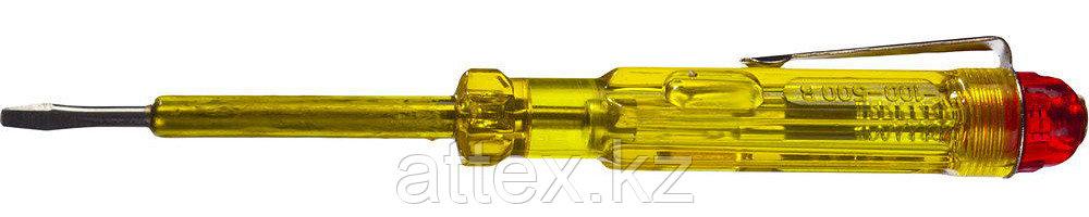 Пробник DEXX электрический, с этикеткой, 100-500В, 130мм 25750