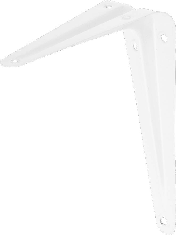 """Уголок-кронштейн STAYER """"MASTER"""", 125х100мм, белый 37401-1"""