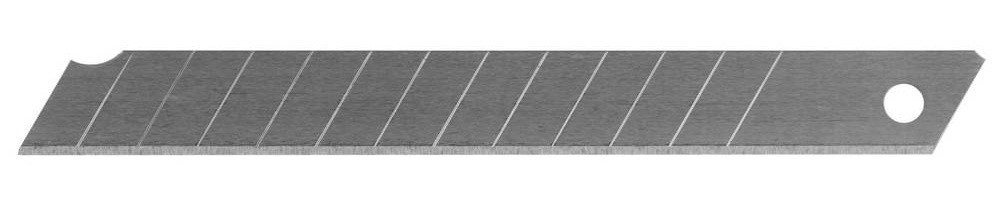 """Лезвия STAYER """"STANDARD"""" сегментированные, 9 мм, 10 шт, в боксе 09050-S10"""