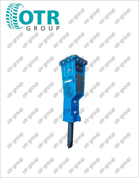 Гидромолот для гусеничного экскаватора Terex TXC 140 LC-1