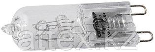Лампа галогенная СВЕТОЗАР капсульная, прозрачное стекло, цоколь G9, диаметр 13мм, 25Вт, 220В SV-44892-T