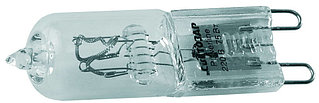 Лампа галогенная СВЕТОЗАР капсульная, прозрачное стекло, цоколь G9, диаметр 13мм, 75Вт, 220В SV-44897-T