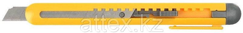 """Нож STAYER """"STANDARD"""" с выдвижным сегментированным лезвием, пластмас., 9мм 0901"""