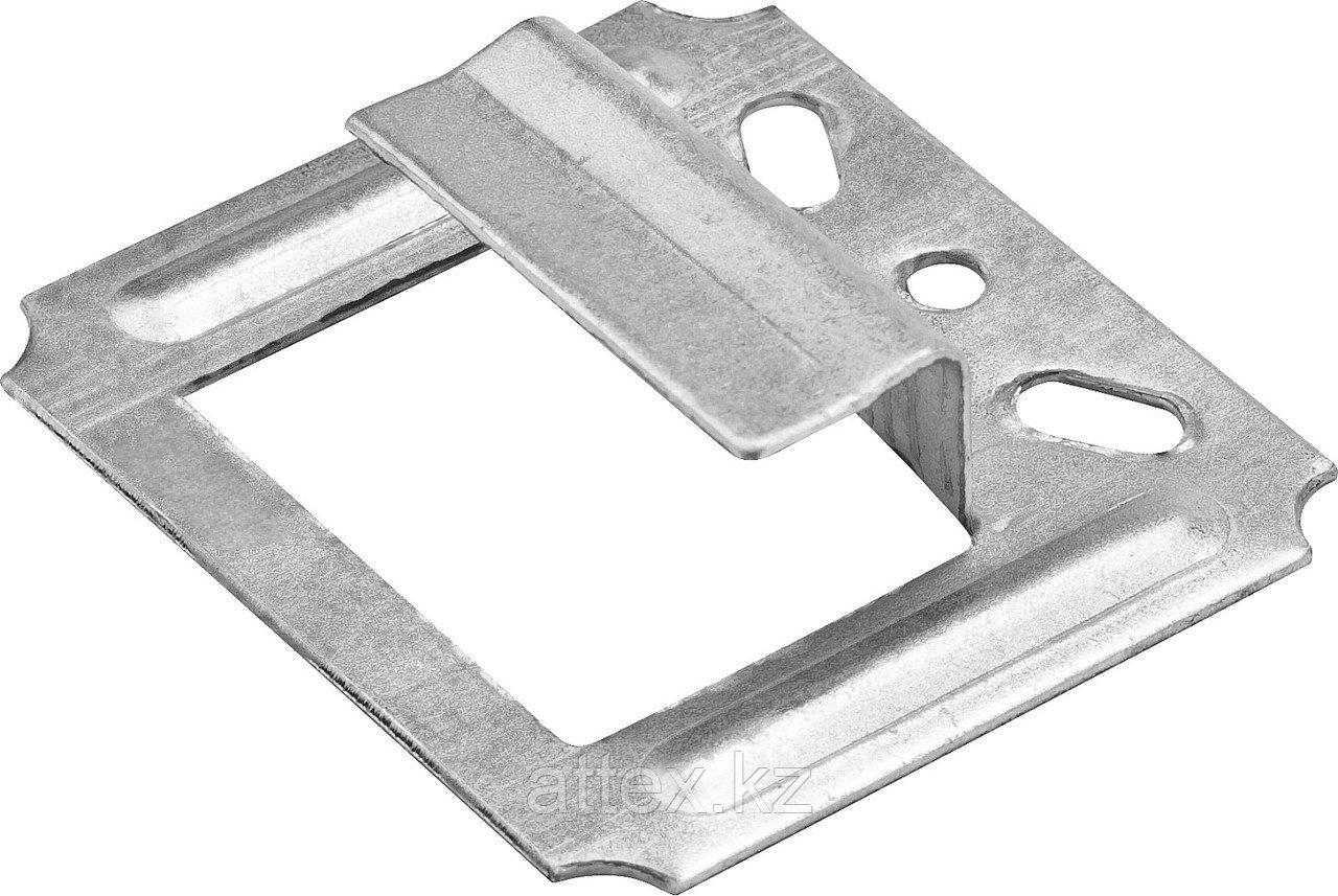Крепеж для блок-хауса оцинкованный, 7,0мм, 25шт, ЗУБР Профессионал 3085-07
