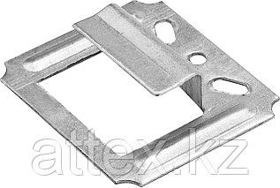 Крепеж для блок-хауса оцинкованный, 8,0мм, 25шт, ЗУБР Профессионал 3085-08